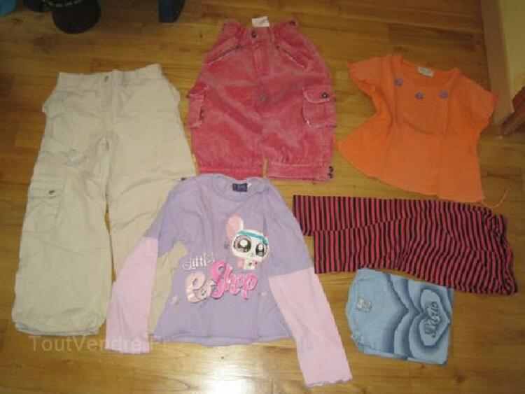 Lot vêtements fille 6 ans 90023780