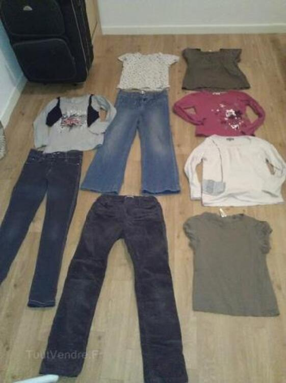Lot vetements fille 8/10 ans Bensimon,L.Rose,Vertbaudet 105416835