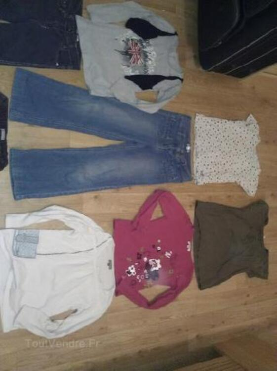 Lot vetements fille 8/10 ans Bensimon,L.Rose,Vertbaudet 105416836