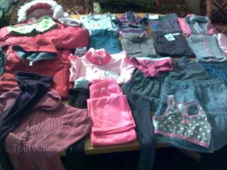 Lot vêtements fille de 10ans