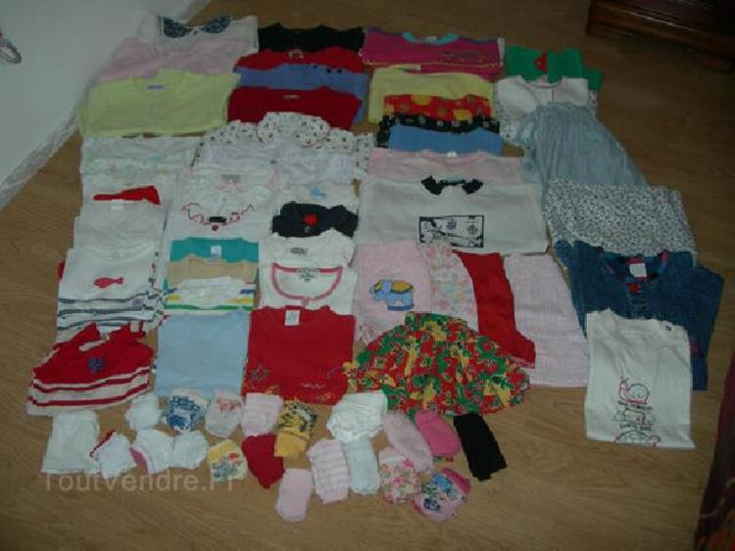 Lot vêtements fille été - 2 ans 104928541