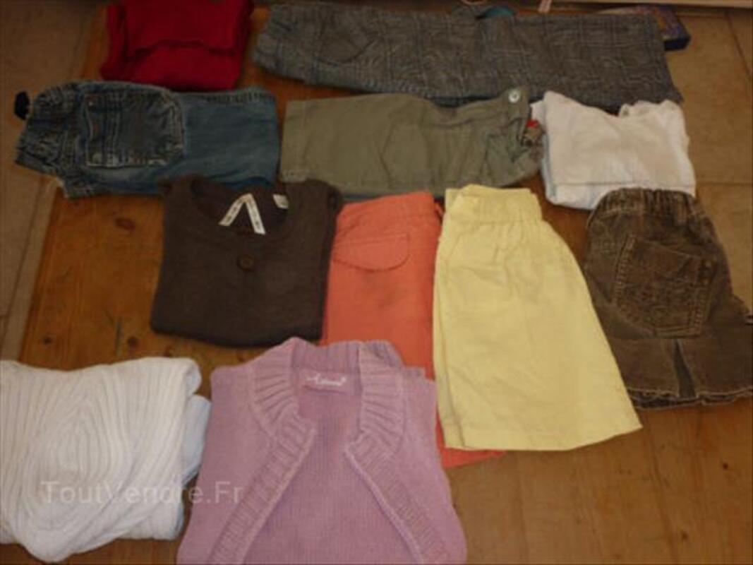 Lot vêtements fille hiver 4 ans 54544721