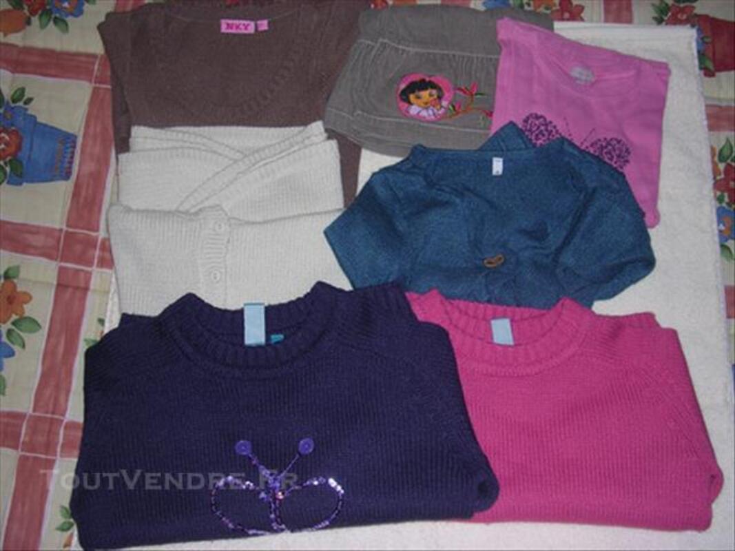 Lot vêtements fille taille 8 ans 84799915