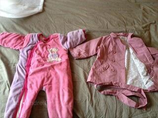 Lot vêtements filles 2 ans