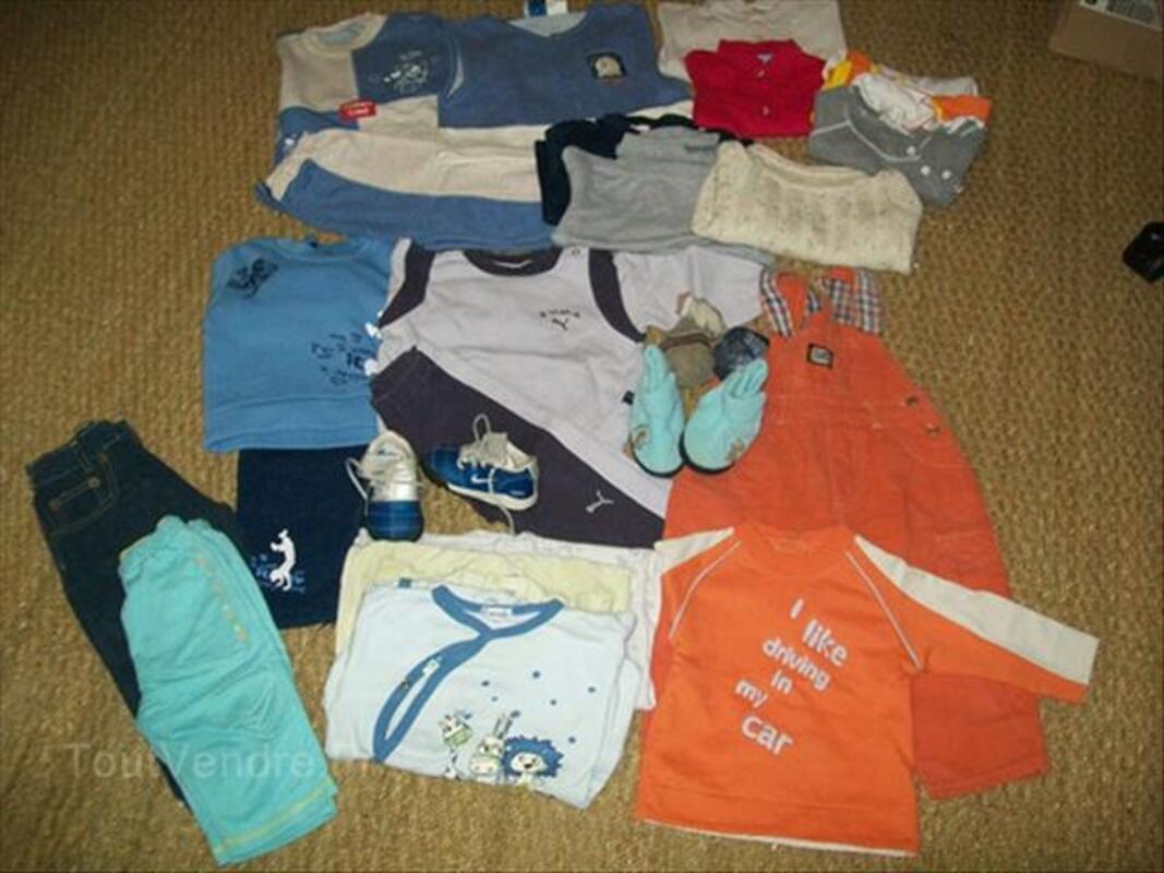 Lot vêtements garçons 1 ans et 2 ans 56349832