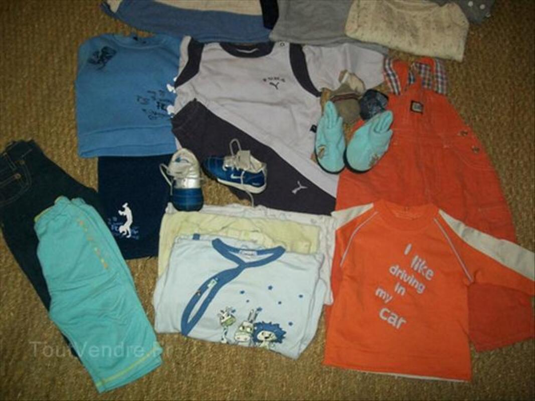 Lot vêtements garçons 1 ans et 2 ans 56349833