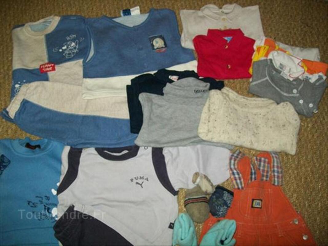 Lot vêtements garçons 1 ans et 2 ans 56349834