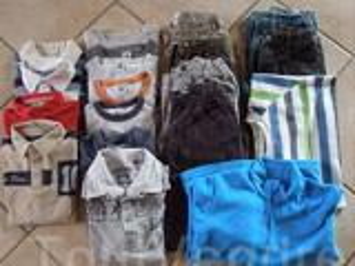 Lot vêtements garçons 8 ans.