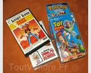 LOTS CASSETTES VHS ENFANTS