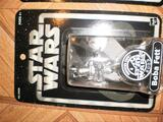 Lots de 5 figurines star wars  edition limitée silver