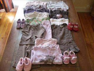 Lots vêtements printemps-été fille 6 mois
