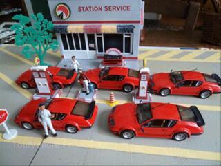 Lots voitures miniature 1/43