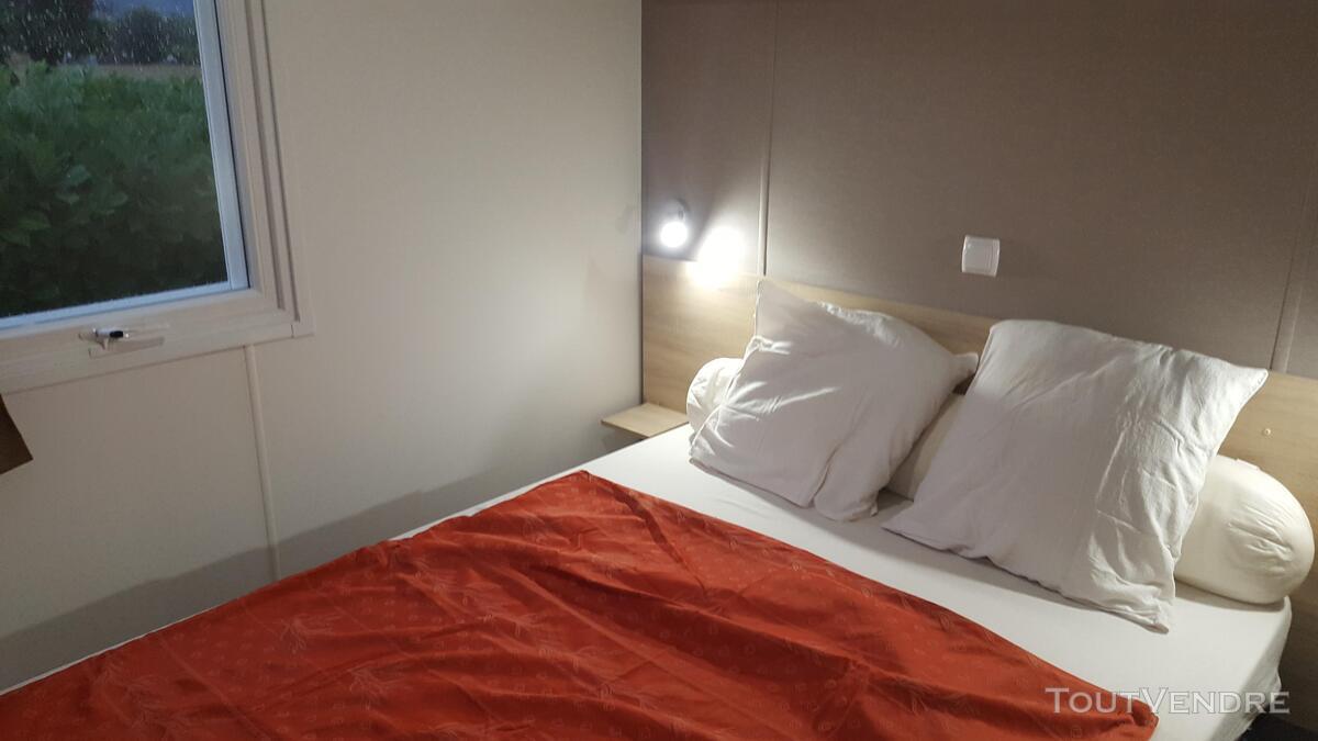Loue Mobil Home 40m² 6/8 pers à Condrieu Camping bord Rhone 362035457