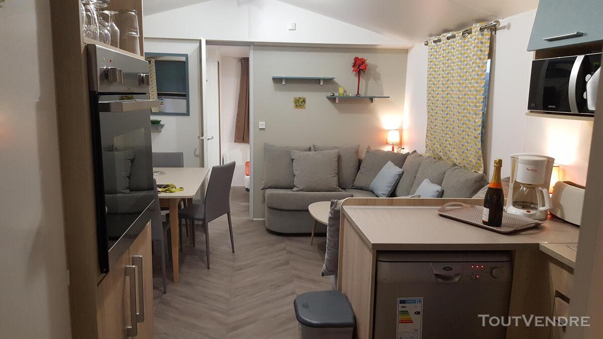 Loue Mobil Home 40m² 6/8 pers à Condrieu Camping bord Rhone 362035472