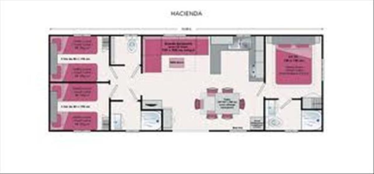Loue Mobil Home 40m² 6/8 pers à Condrieu Camping bord Rhone 60524332