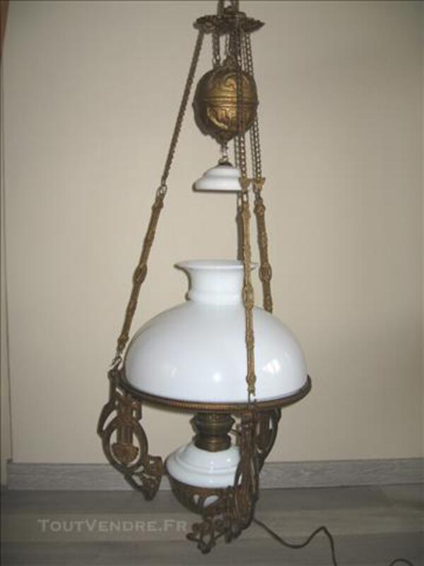 Lustre / suspension lampe à pétrole 77520716