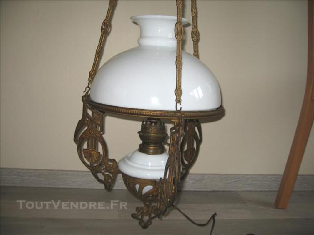 Lustre / suspension lampe à pétrole 77520720