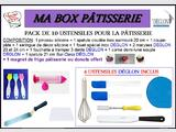 MA BOX PÂTISSERIE – PACK 10+1 USTENSILES - NEUF (Colissimo)