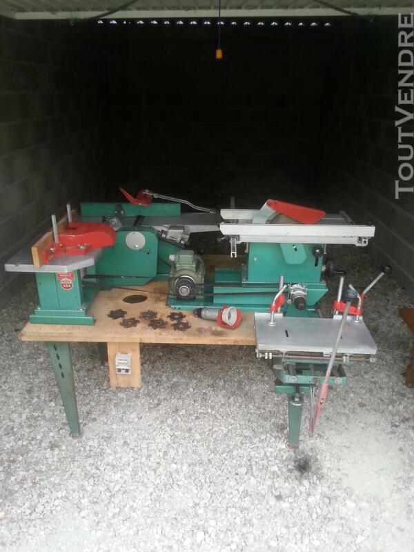 Machine à bois Kity sur table complète 476368091