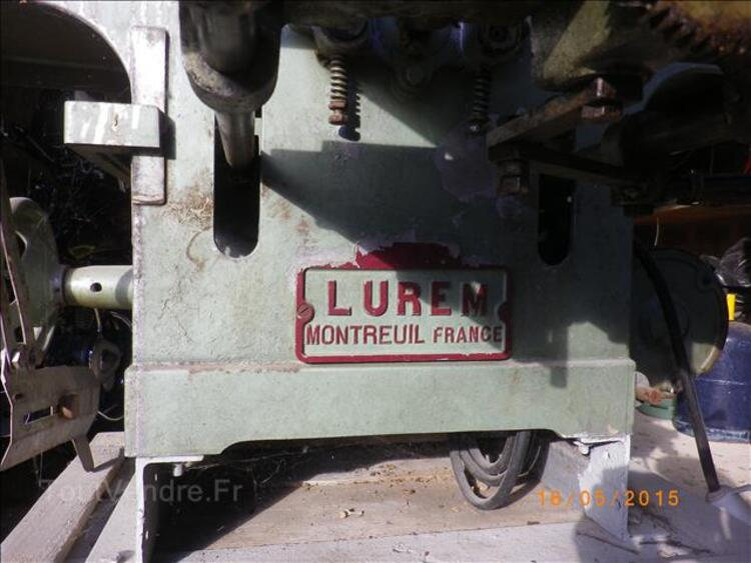 Machine à bois LUREM 105356456