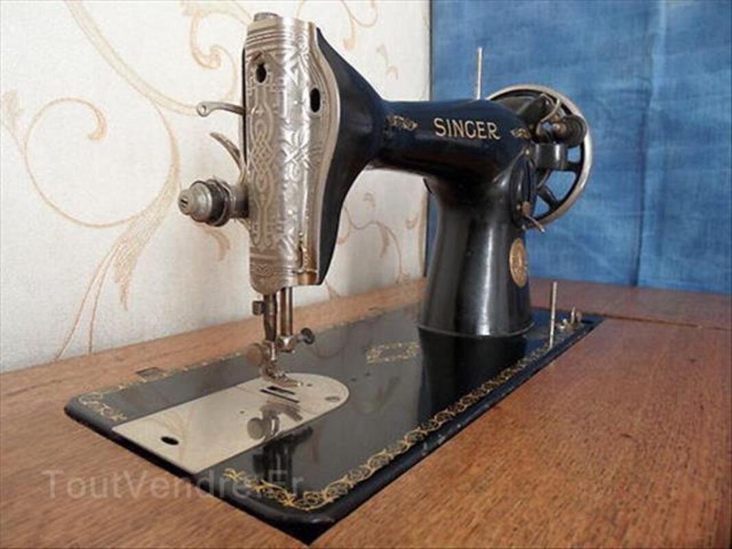 MACHINE à COUDRE ancienne SINGER N° SA081895 88204560