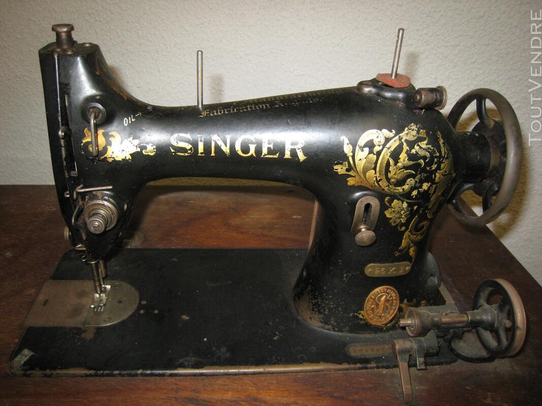 Machine à coudre ancienne SINGER 507150270