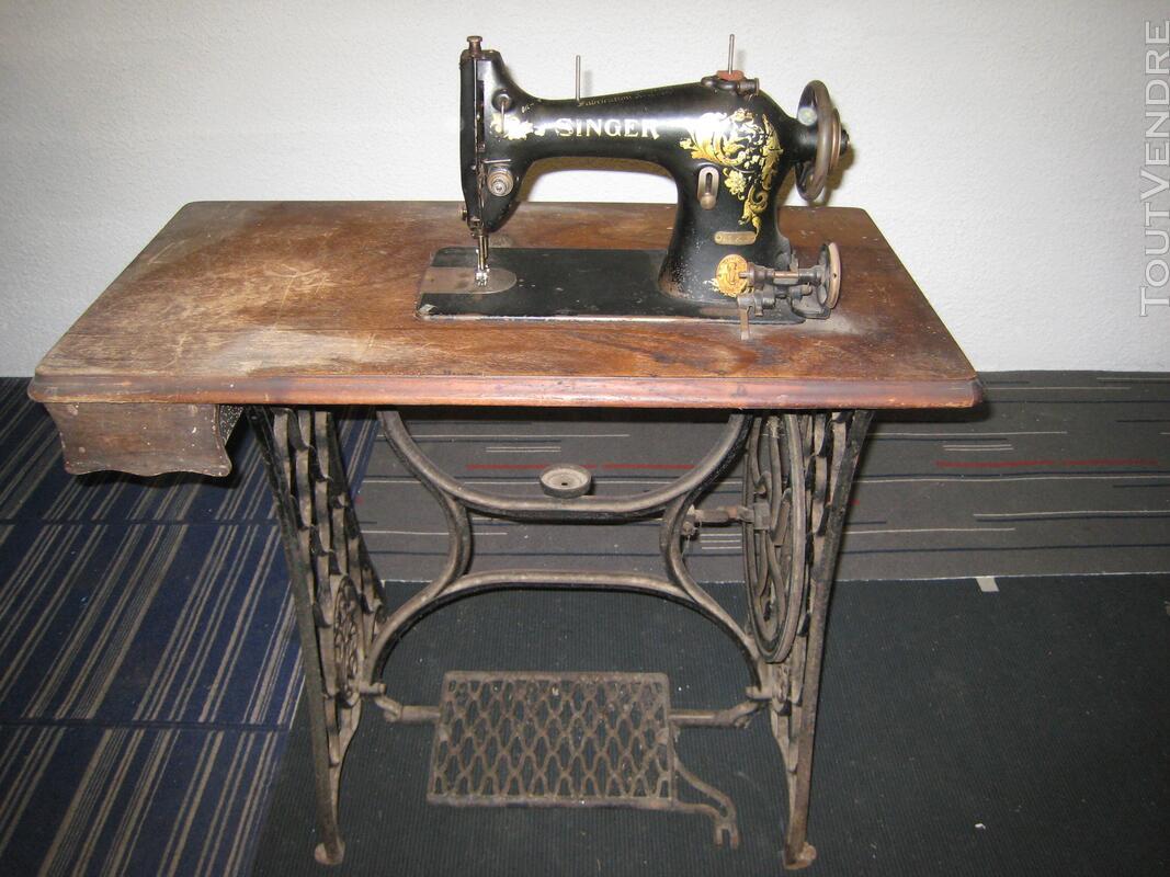 Machine à coudre ancienne SINGER 507150273