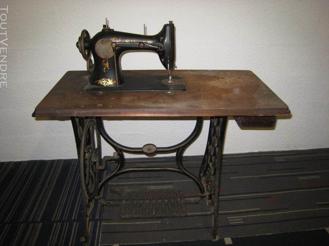 Machine à coudre ancienne SINGER 507150276