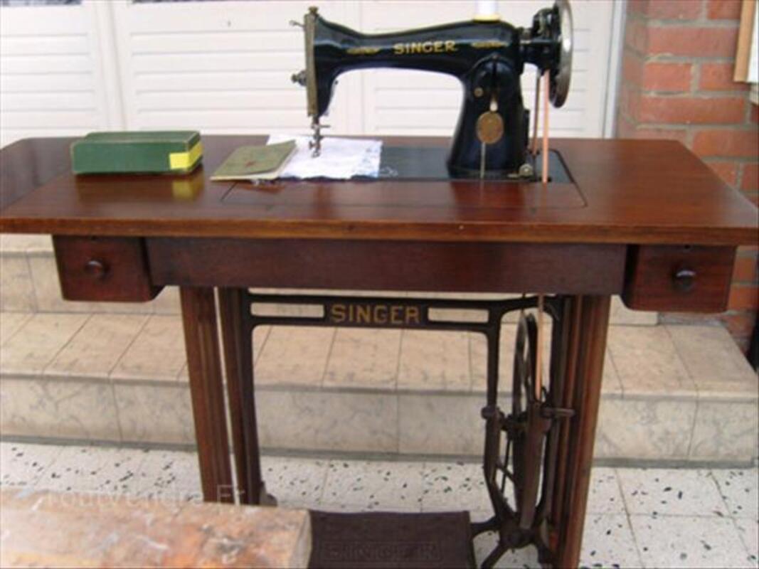 Machine à coudre ancienne SINGER 54556896
