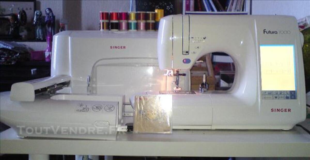 Machine à coudre brodeuse Singer futura 7000 76195307