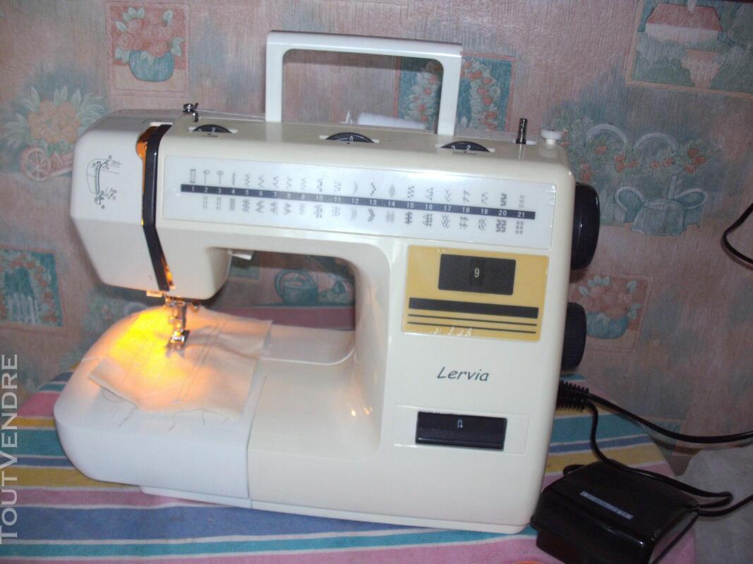 Machine à coudre LERVIA parfait état comme neuve 477985859