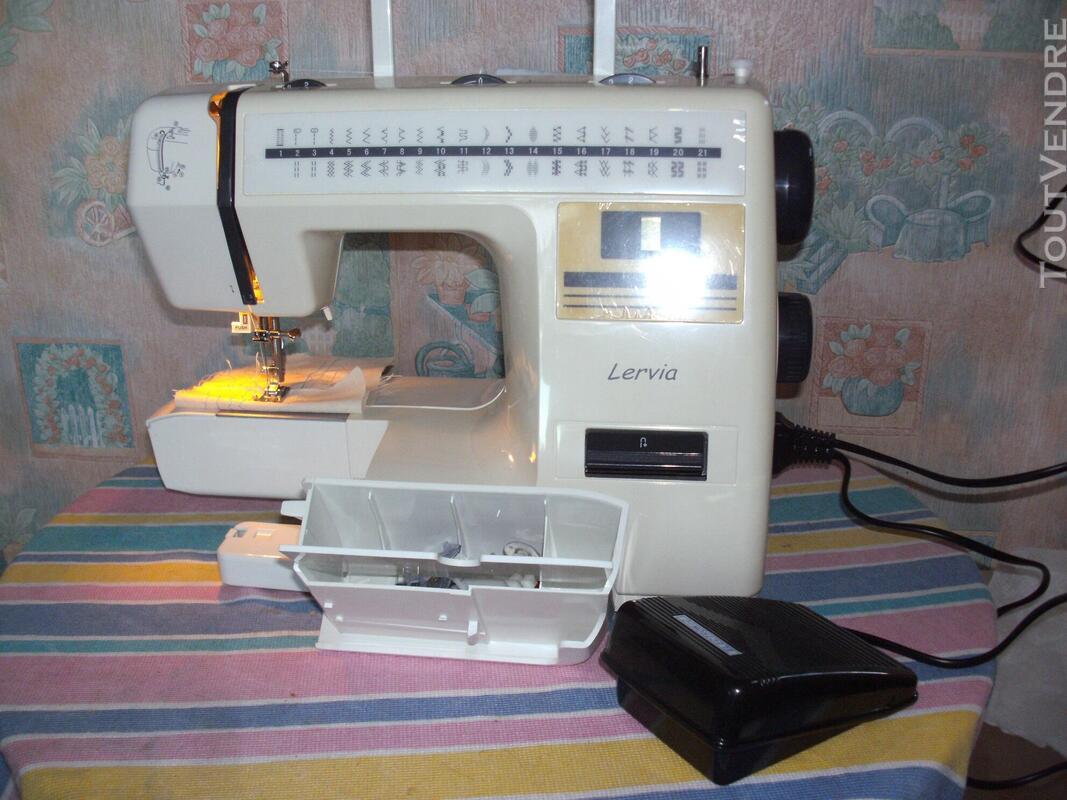 Machine à coudre LERVIA parfait état comme neuve 477985862