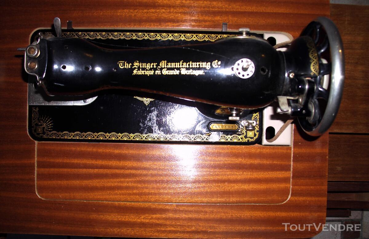 Machine à coudre SINGER ancienne 673937191
