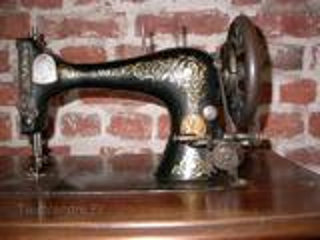 Machine à coudre Singer années 1900