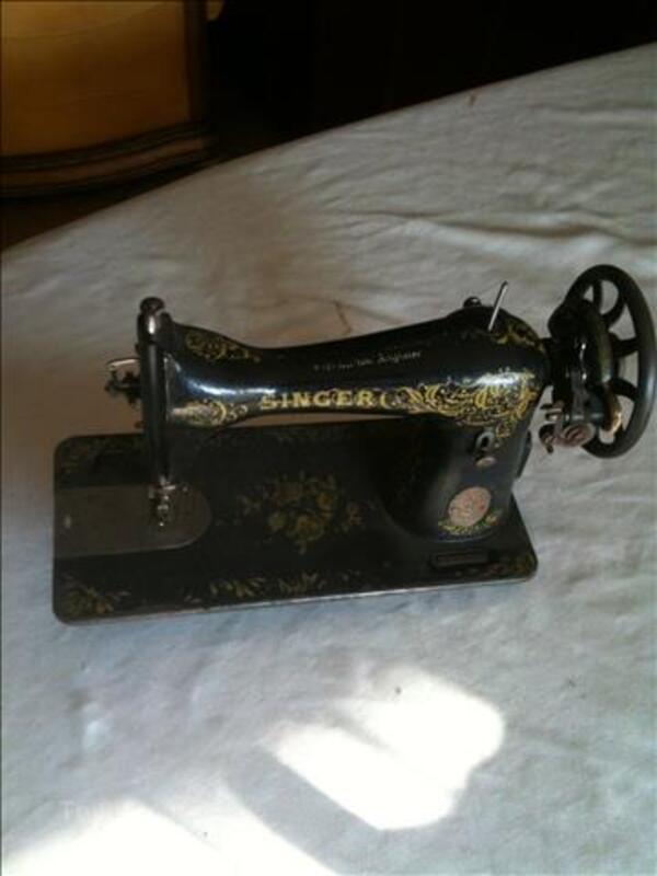 MACHINE à COUDRE SINGER (années 1910/30) 103365337