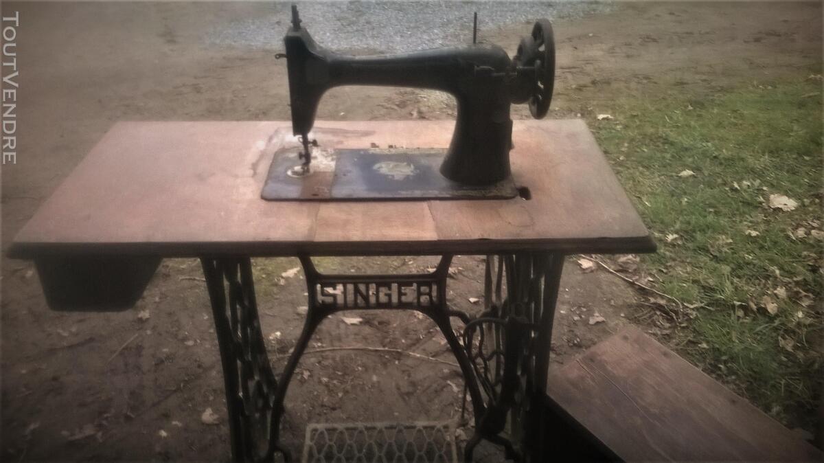 MACHINE A COUDRE SINGER DE 1917 FABRIQUEE EN ANGLETERRE 187561624