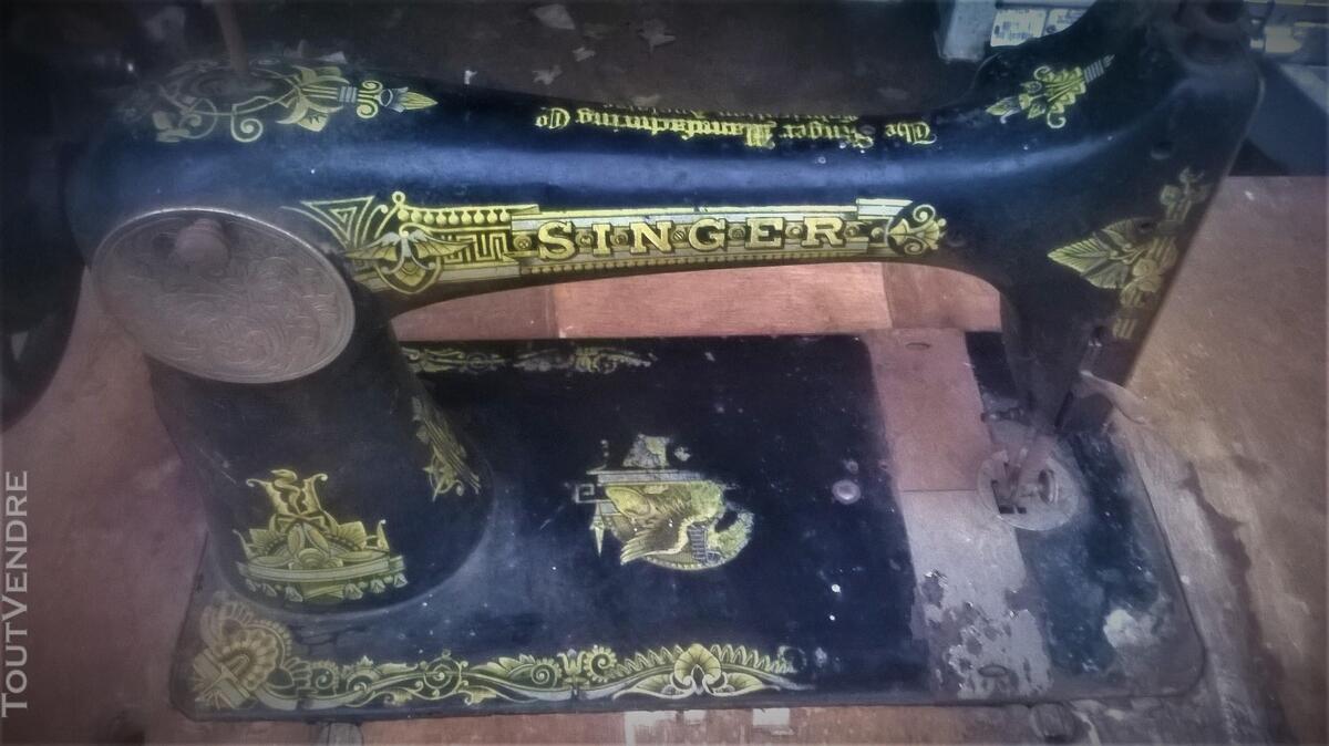 MACHINE A COUDRE SINGER DE 1917 FABRIQUEE EN ANGLETERRE 187561664