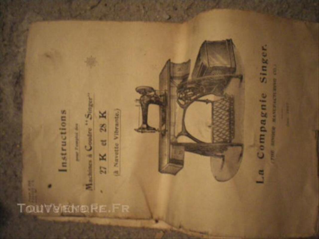 Machine a coudre singer 43795532