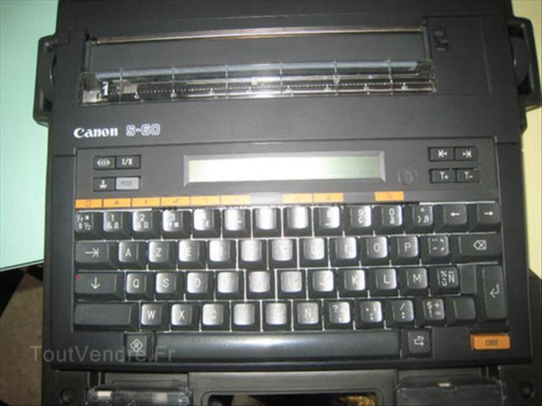 Machine à écrire Canon S-60 87062445