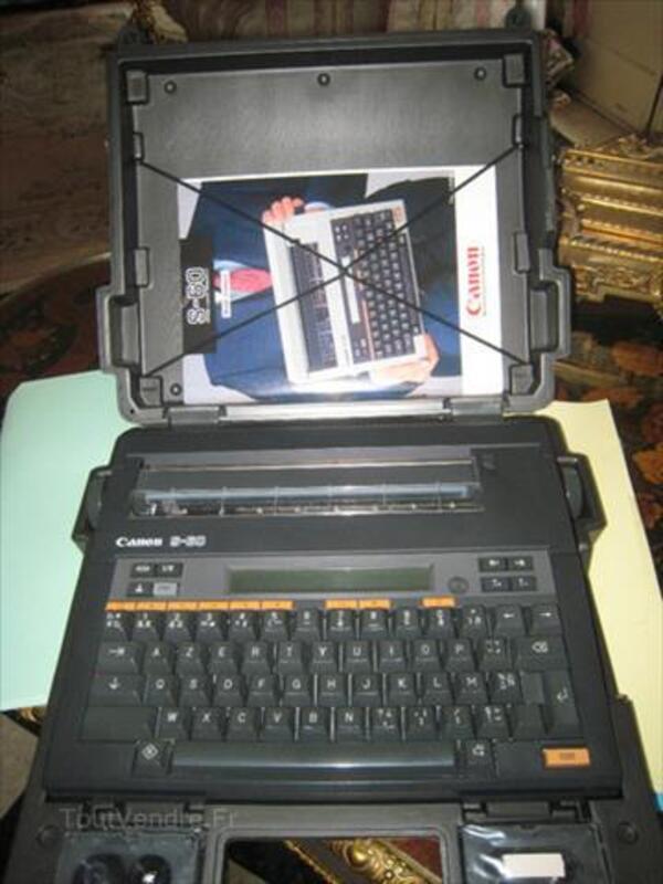 Machine à écrire Canon S-60 87062446