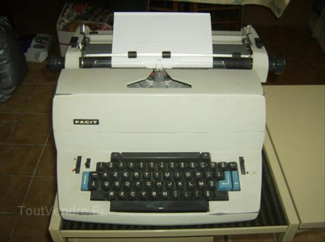 MACHINE A ECRIRE FACIT 71868606