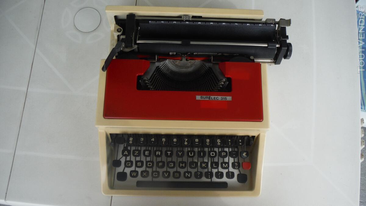"""Machine à écrire """"JAPY BURELEC 315"""" - année 1960 261228578"""