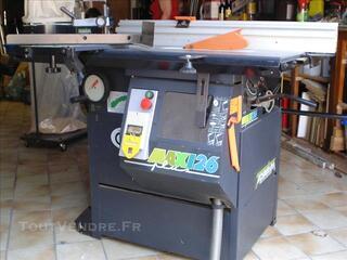 Machine Combiné bois LUREM Maxi plus 26