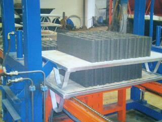 Machine de bloc beton fabrication de paves, parpaing