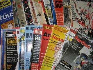 Magazines littéraires 1993 à 2002 prix dégressif
