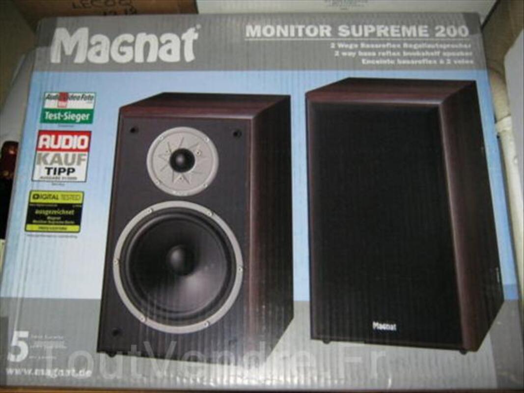 Magnat - Monitor Supreme 200 - paire (neuf) noire 73109539