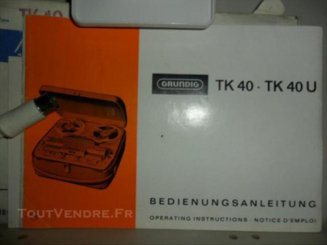 Magneto Grundig TK 40 (1960 -1964) 86141788