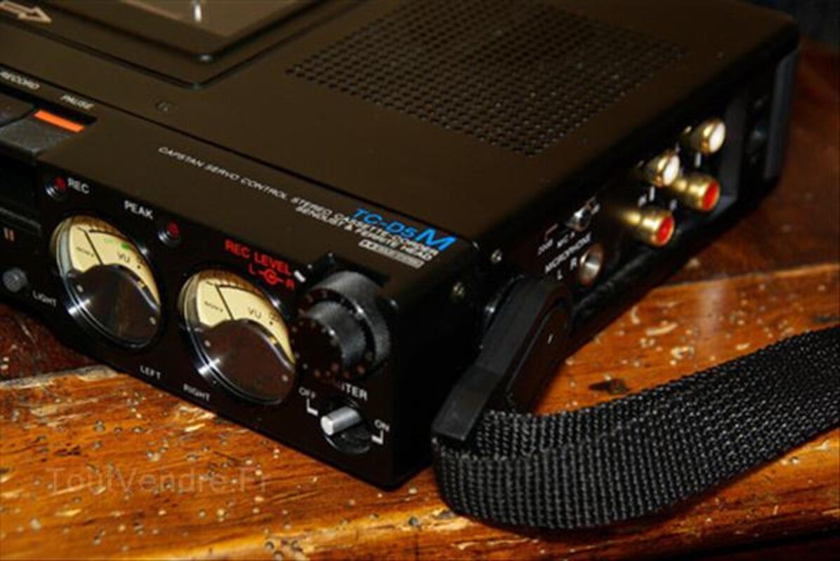 Magnétophone de reportage SONY TC-D5M état excéptionnel 55871860
