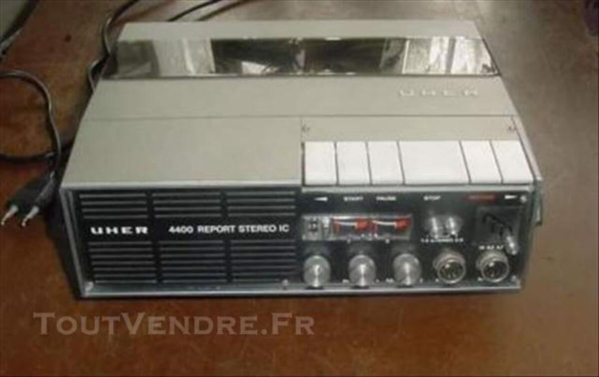 MAGNETOPHONE UHER 4400 Stéréo + Synchronisateur cinéma 75698860