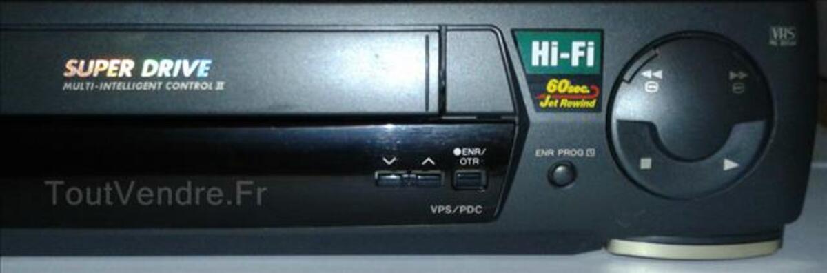 Magnétoscope PANASONIC NV-HD638 avec télécommande 89176449
